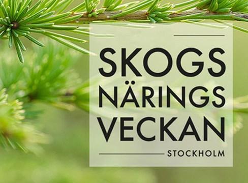 Skogsnäringsveckan 2017