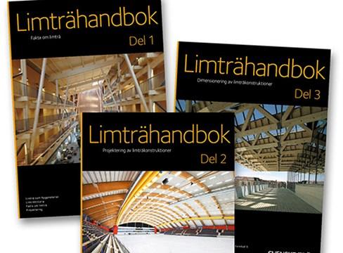 Nu lanserar Svenskt Trä Limträhandbok Del 1-3!