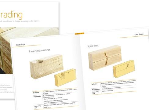 Ny publikation definierar kvalitet och regler för sågade trävaror i Europa