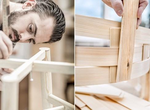 DesigninPine - Nio nya möbler lyfter furu i Sverige och Kina