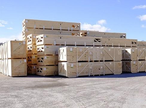 Belastning och påkänningar på träförpackningar