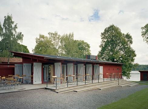 Informationsbyggnad Borlänge