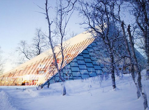 Träbyggnadsturné i Kiruna