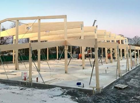 Djupdyk i framtidens träbyggande – tema planering och montage