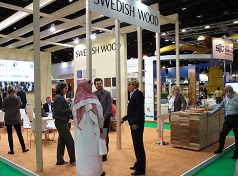 Svensk sågverksindustri utvecklar marknader i Mellanöstern