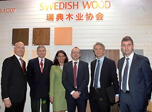 Kinesisk industri bekräftar stor potential för svenska trävaror
