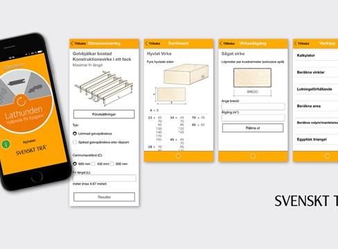 Ny app gör det enklare att bygga med trä