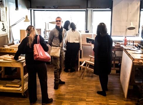 Svenskt Trä bygger internationella broar inom trädesign