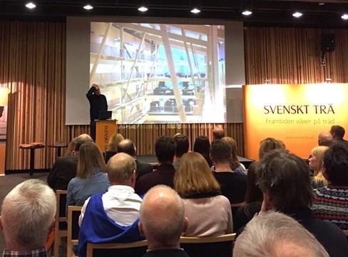 Träbyggnadsdag i Åre – ett bevis på träets genombrott