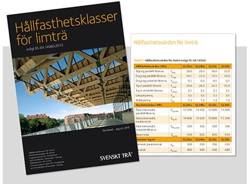 Hållfasthetsklass CE L40 för limträ ersätts av de nya GL-klasserna enligt SS-EN 14080:2013