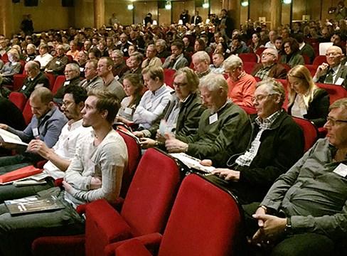 Succé för Svenskt Träs kunskapsdagar