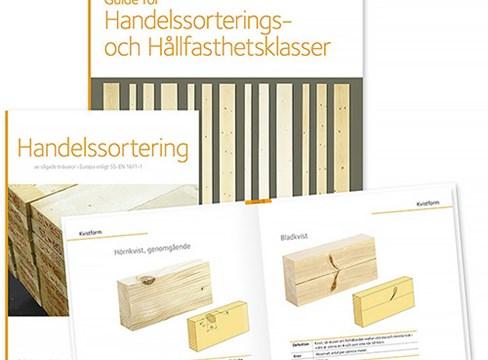 Nya publikationer förenklar handelssortering av sågade trävaror