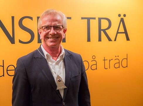 Ulf Gustafsson blev årets riddare av Trämarknadsorden