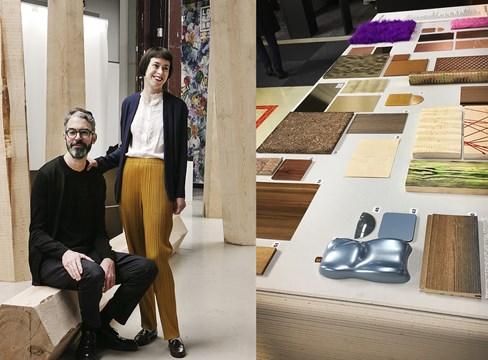 Furu, framtidsmaterial i trendutställning på Stockholm Furniture & Light Fair
