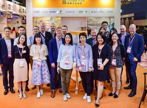 Shanghai-mässa bekräftar möbelindustrins intresse för svenskt sågat virke