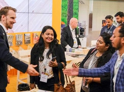 Intresset för svenskt trä växer i Indien