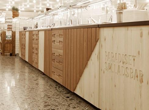 Furu till finrummet när matvarubutiken Paradiset flyttar in i NK Saluhall