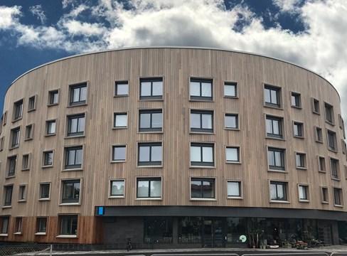 Svenskt trä intar central plats på Kinas stora träbyggmässa
