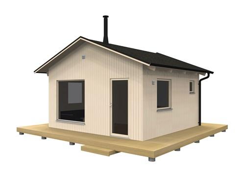 Nu blir det lättare att bygga attefallshus