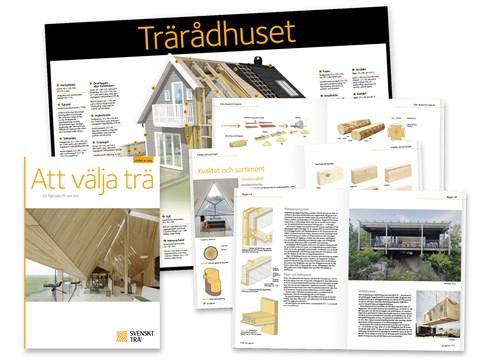 Svenskt Trä lanserar ny publikation om trä