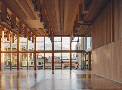 Närproducerat kulturhus sätter Skellefteå i fokus