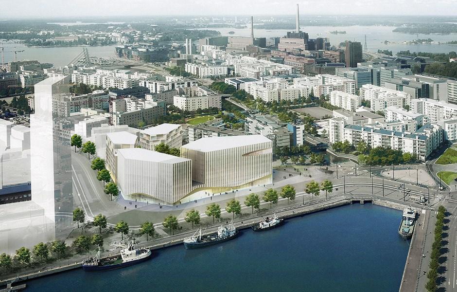 Helsingfors bygger på höjden
