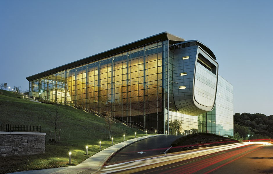 Äggformat konserthus