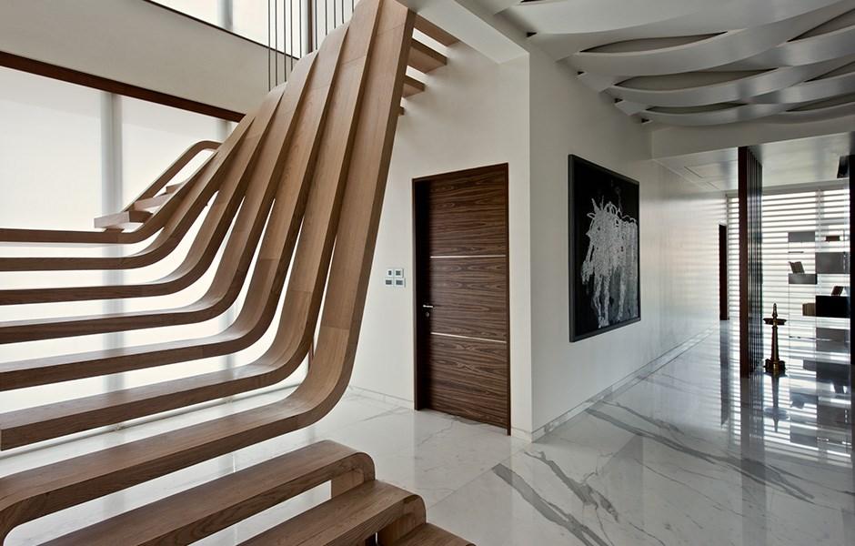 Trappan som blev en skulptur