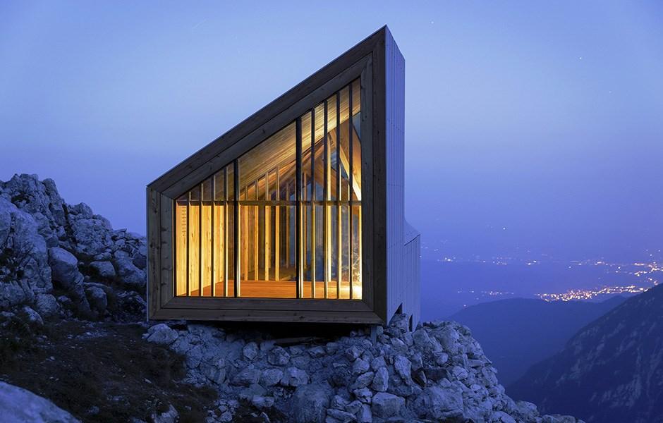 Sovplats för bergsgetter
