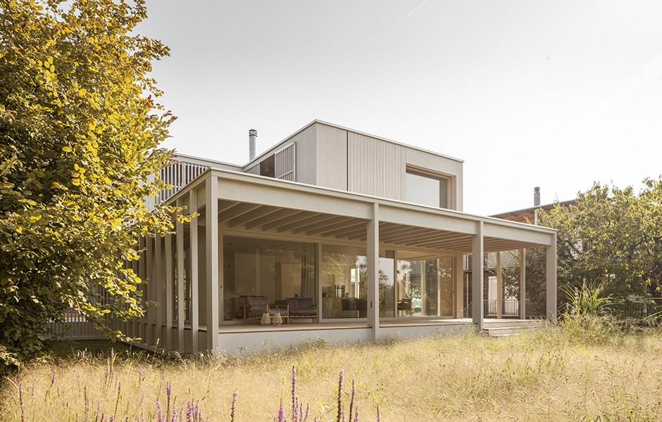 Naturen och rummet förenas i öppen design