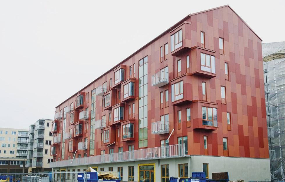 Goda exempel på att flervåningshus av trä  leder till ökad produktion