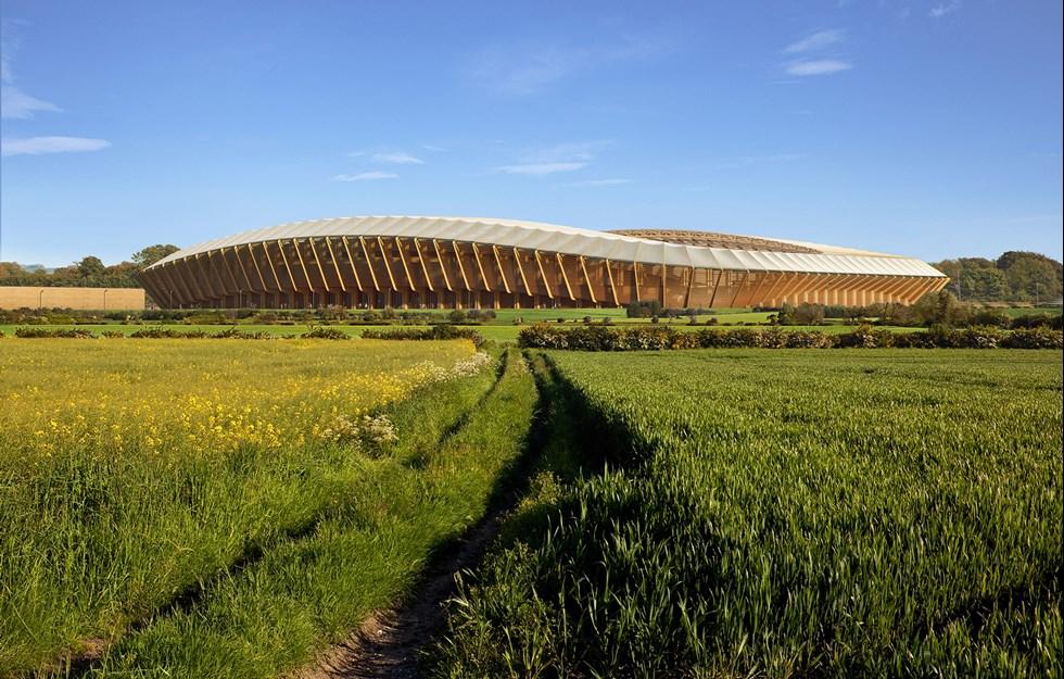 Fotbollsklubb får arena i hållbar division