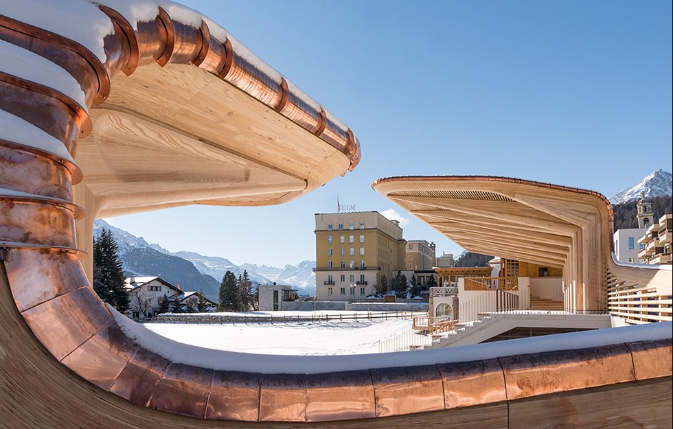 Paviljong för iskultur
