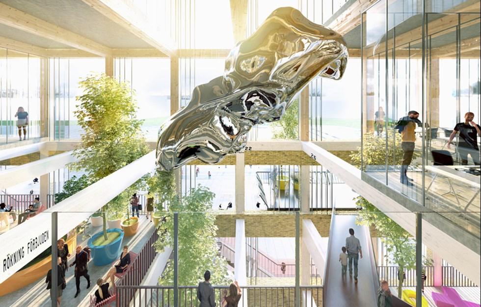 Tre nya våningar tack vare trä
