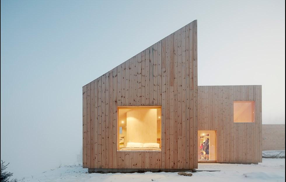 Mångsidig hytte med kärna