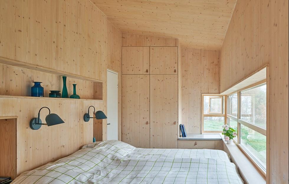 Modulär villa med ombonad känsla