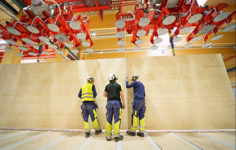 Efterlängtad kapacitetsökning för KL-trä