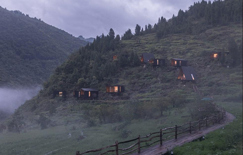 Varsamt byggande ska förbättra för den kinesiska landsbygden