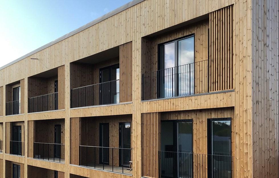 Utmaningarna med god akustik i höga hus av trä