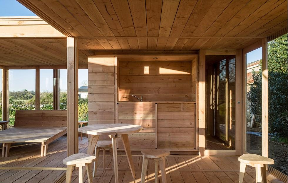 Öppen stuga  för gäster